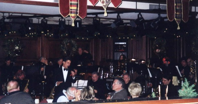 Bob Hoose and His Orchestra performing live at Christines!